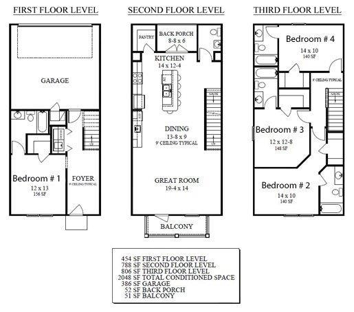 Units 1-3, Campus Block, Tallahassee Student Housing